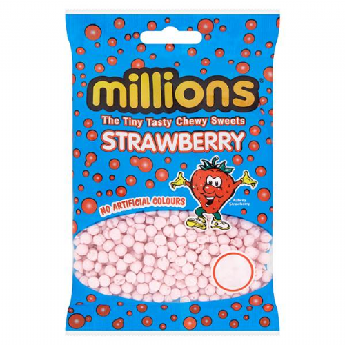 Millions Strawberry 100g Packet